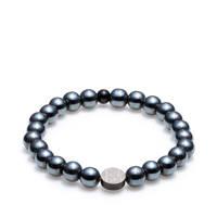 Sem Lewis armband - SL220021-M grijsblauw, Grijsblauw