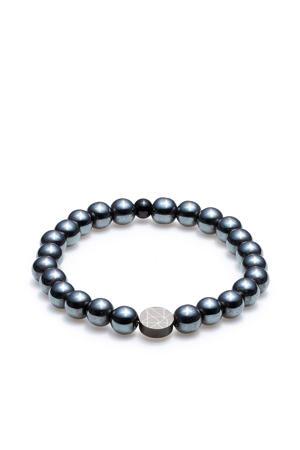 armband - SL220021-M grijsblauw