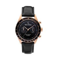 Mats Meier Arosa Racing Chrono horloge - MM50005 zwart, Zwart