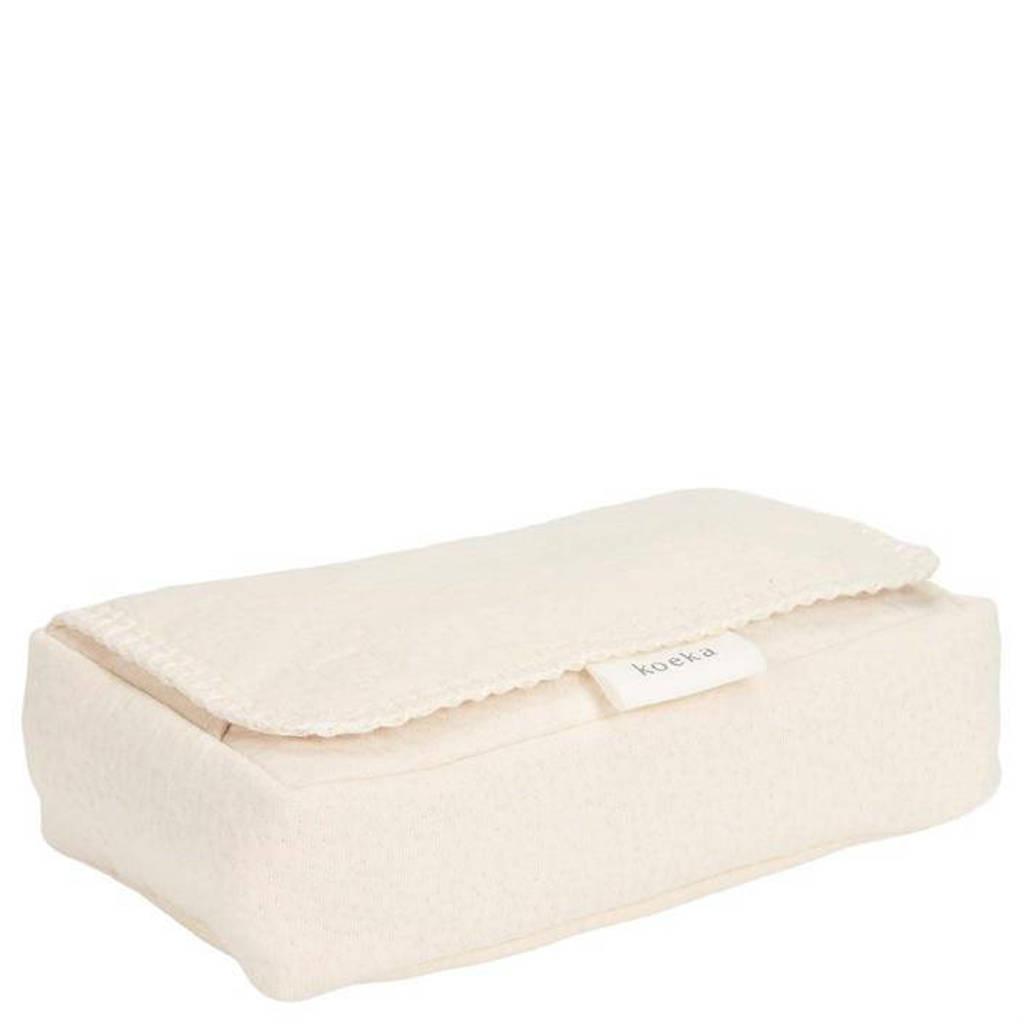 Koeka Runa babydoekjesbox warm white