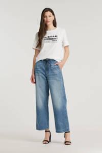 G-Star RAW Lintell High Dad high waist wide leg jeans denim, Denim