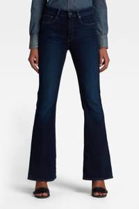 G-Star RAW 3301 high waist flared jeans dark denim, Dark denim
