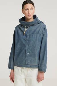 G-Star RAW trui van biologisch katoen denim, Denim