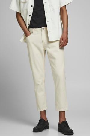 tapered fit jeans JJIMIKE JJORIGINAL ecru