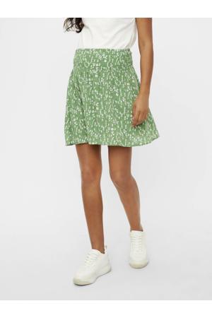 zwangerschapsrok Carlin met all over print groen