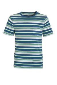 GAP gestreept T-shirt blauw/multi, Blauw/multi