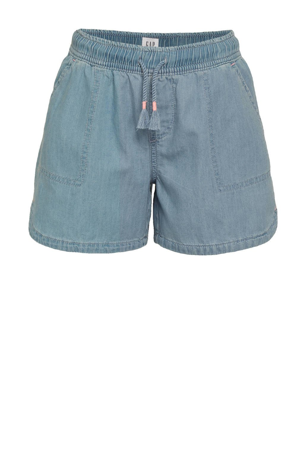 GAP loose fit short light denim, Light denim