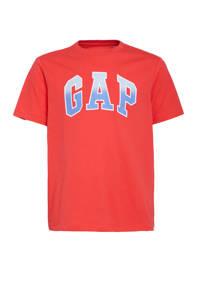GAP T-shirt met logo rood, Rood