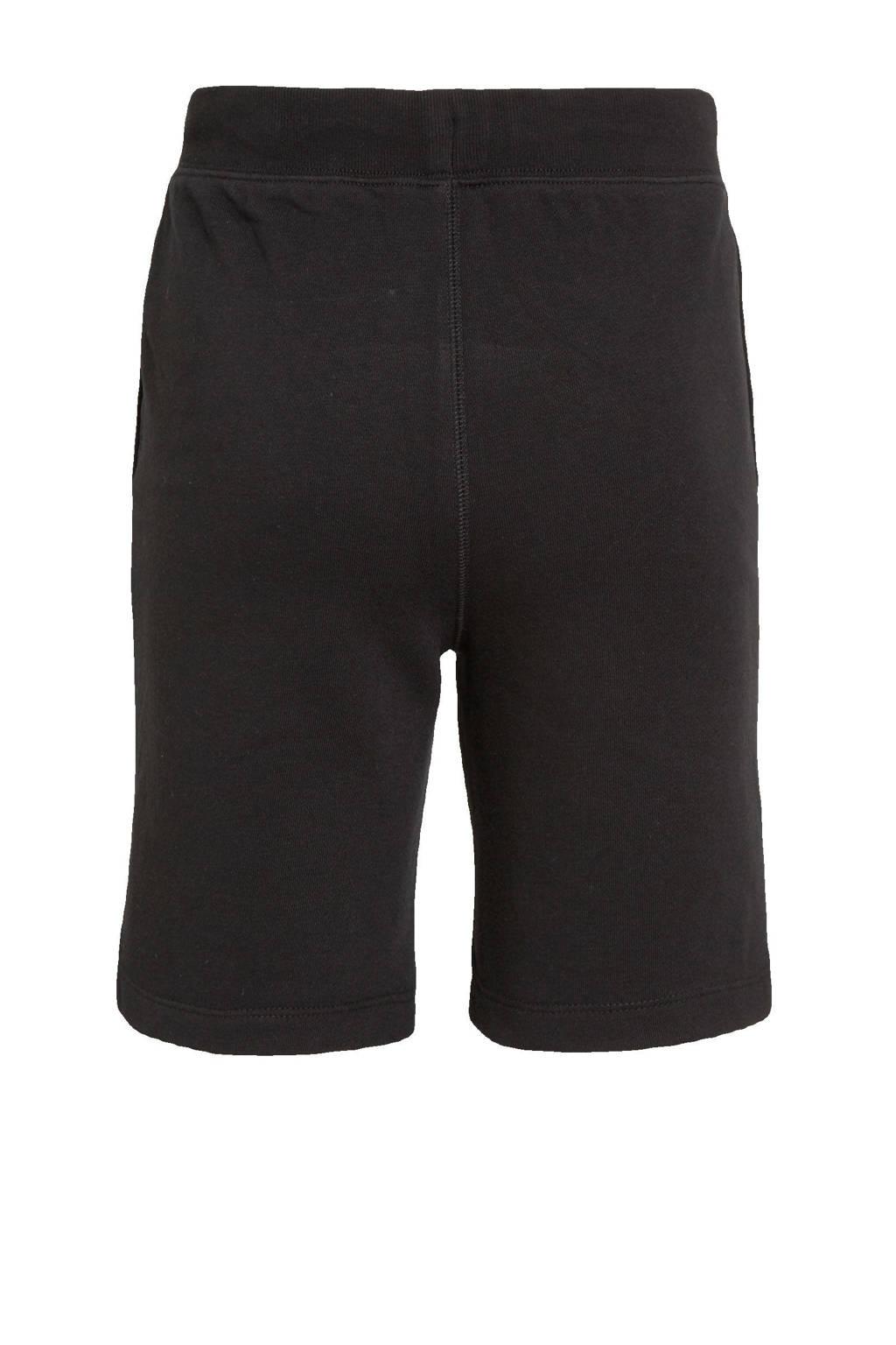 GAP regular fit sweatshort zwart, Zwart