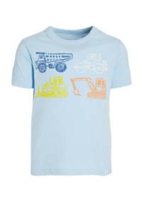 GAP T-shirt met printopdruk lichtblauw, Lichtblauw