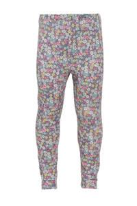 GAP gebloemde legging roze/geel/grijs/groen, Roze/geel/grijs/groen