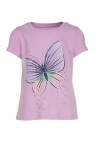 GAP T-shirt met printopdruk lila, Lila
