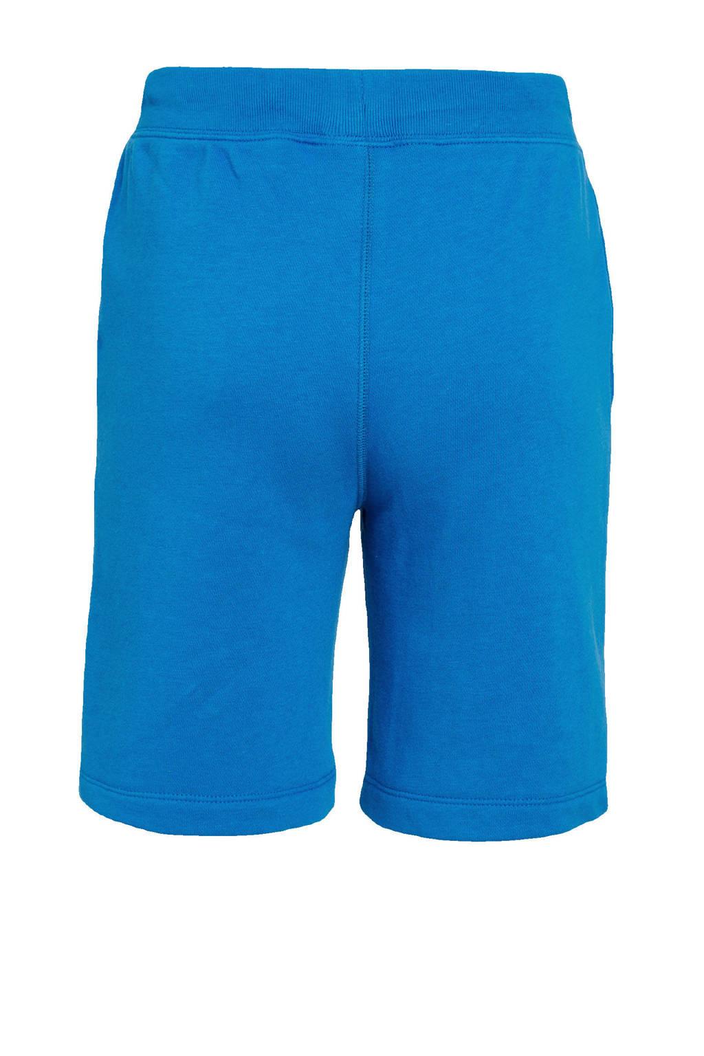 GAP regular fit sweatshort blauw, Blauw