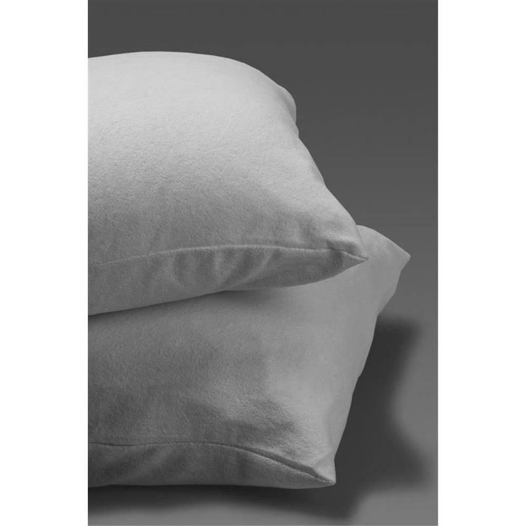 Dreamhouse katoenen kussensloop comfortabel molton (set van 2), Wit
