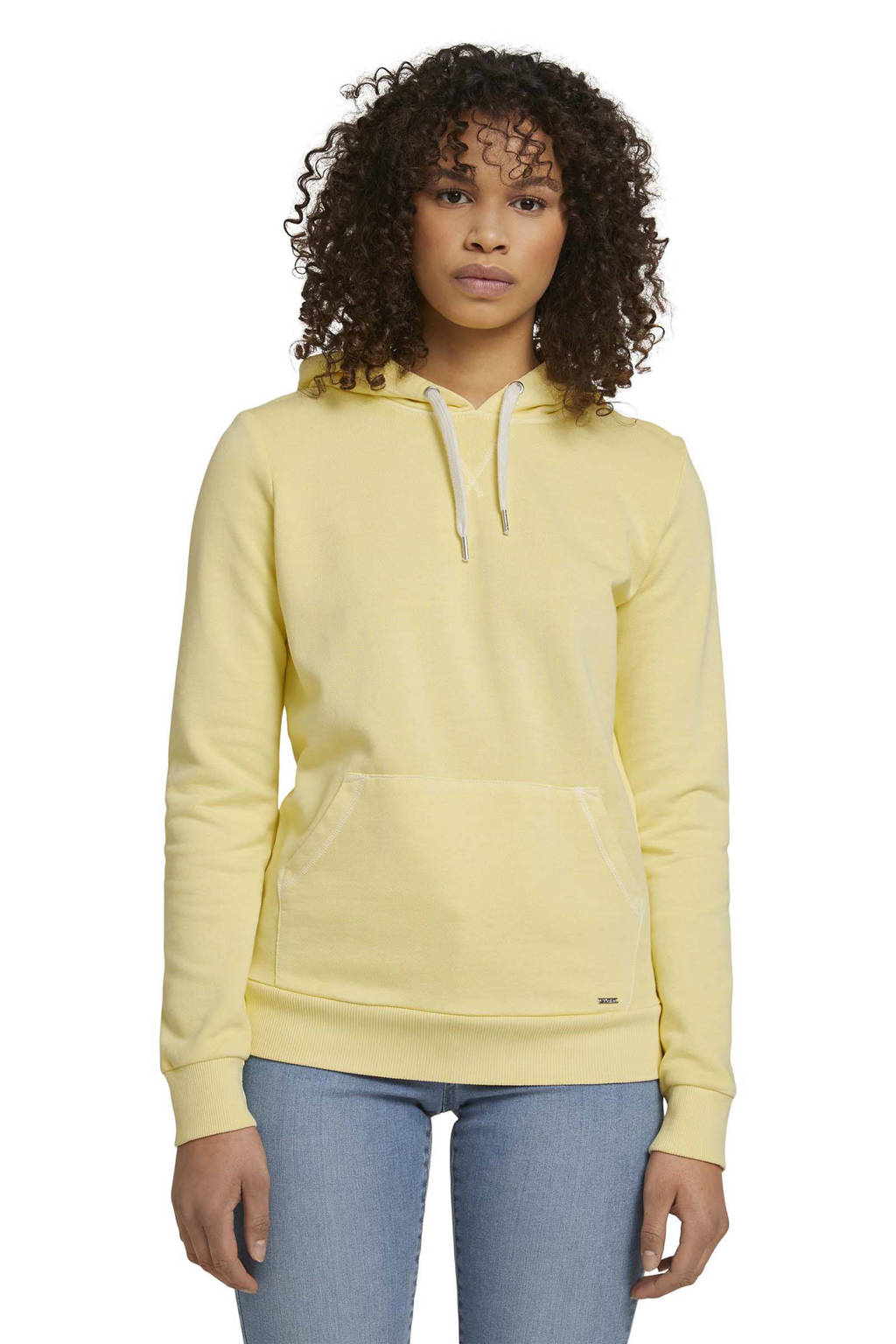 Tom Tailor Denim hoodie geel, Geel