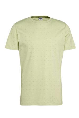 T-shirt Tommie van biologisch katoen lichtgroen