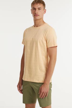 T-shirt Tommie van biologisch katoen zand