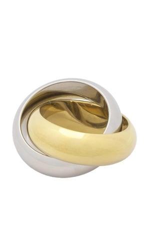 ring Better Together goud/zilverkleurig