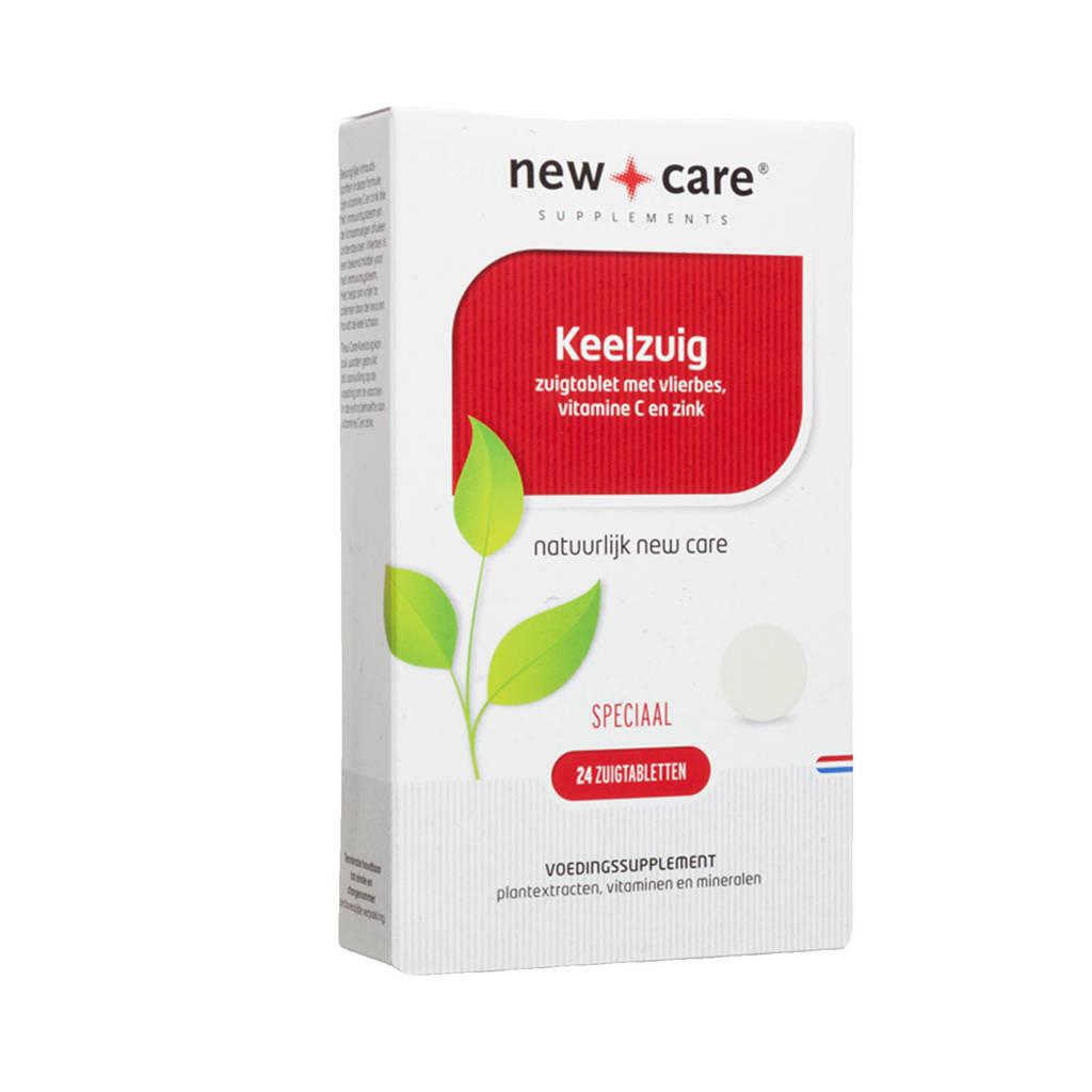 New Care Keelzuig - 24 tabletten