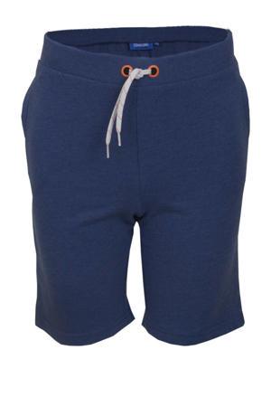 straight fit sweatshort Resort donkerblauw