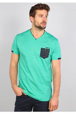 gestreept T-shirt apple green