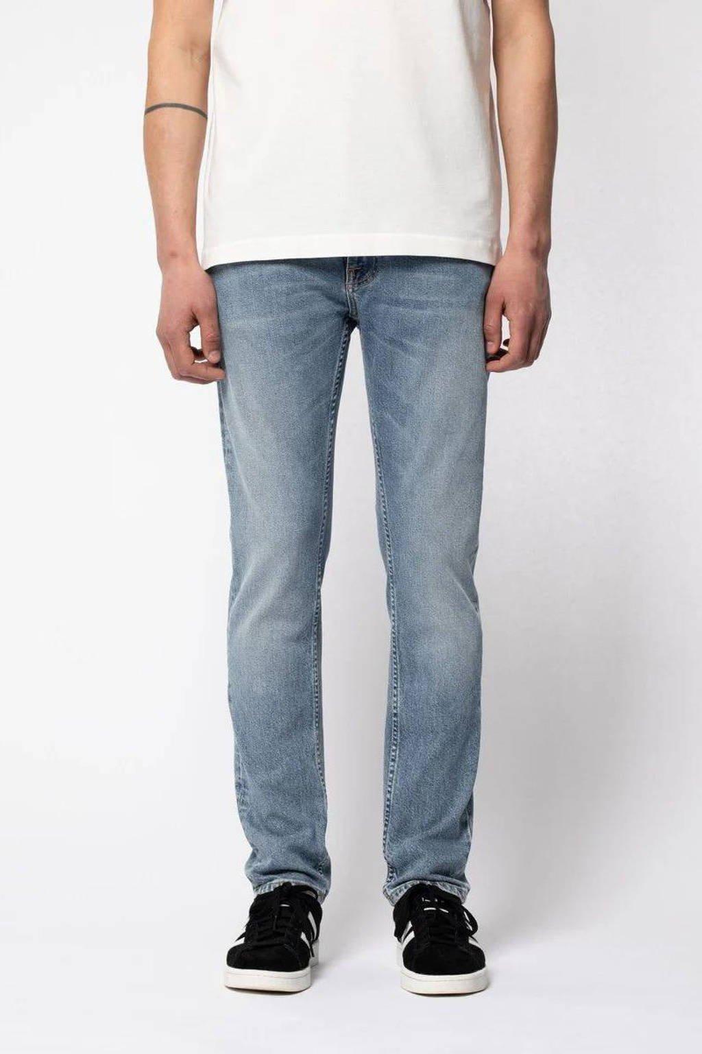 Nudie Jeans slim fit jeans Lean Dean loving twill, Loving Twill