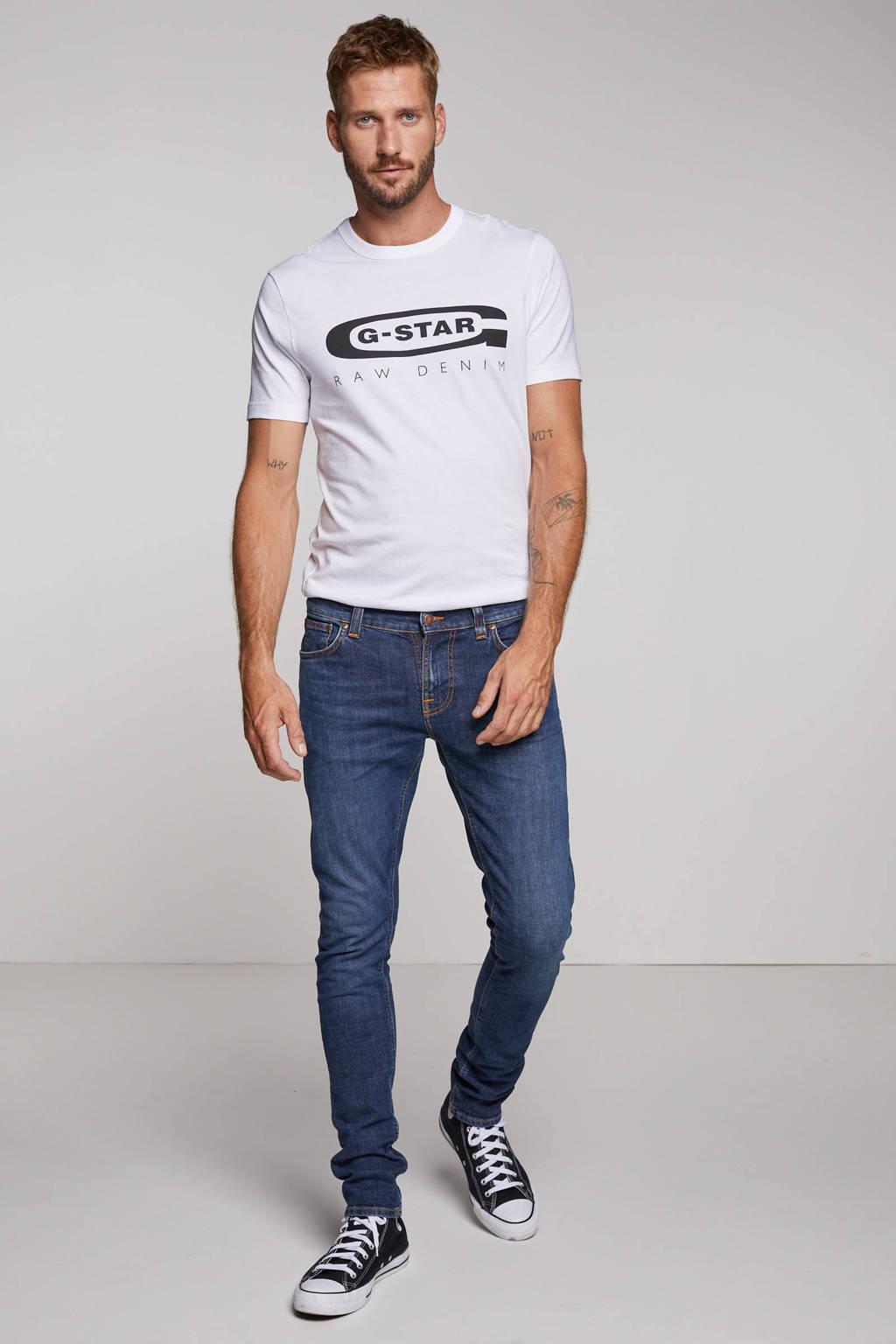 Nudie Jeans skinny fit jeans Tight Terry dark symbol, Dark Symbol
