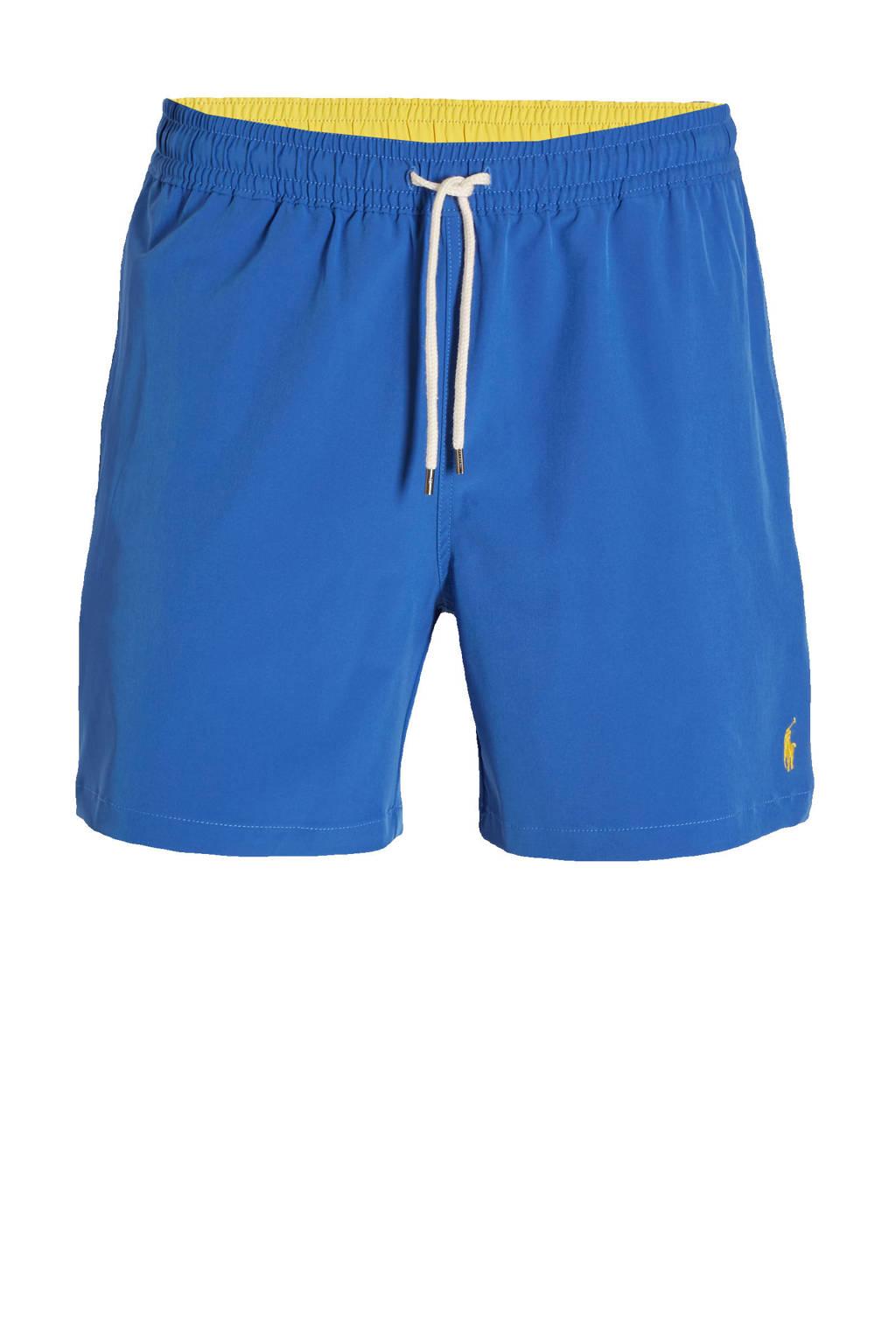 POLO Ralph Lauren zwemshort met geborduurd logo blauw, Blauw