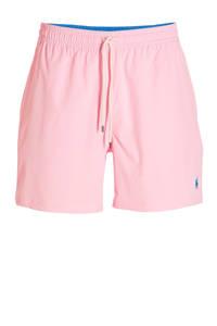 POLO Ralph Lauren zwemshort met geborduurd logo roze, Roze