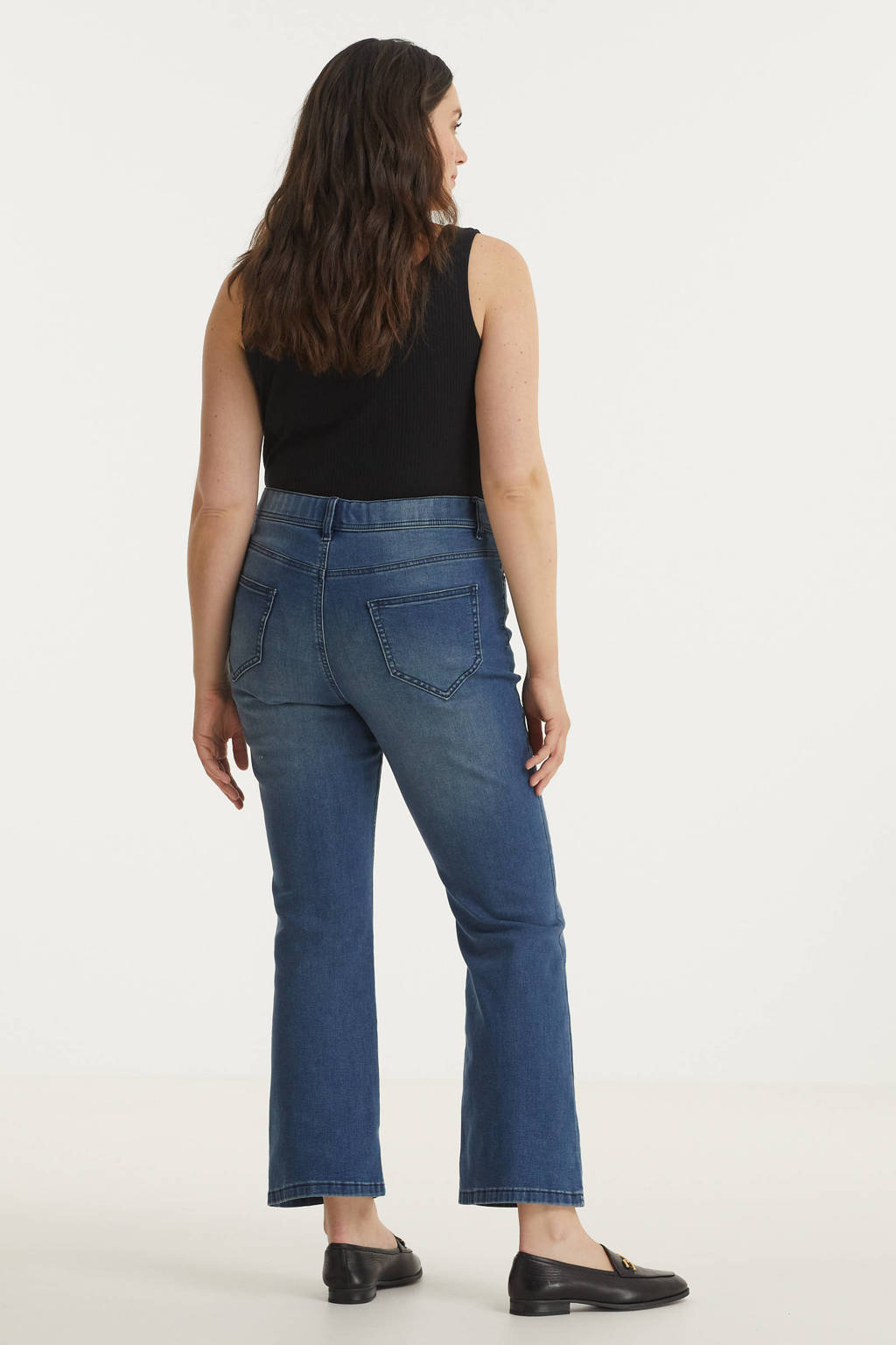 Simply Be bootcut jeans 24/7 medium vintage blue, Medium vintage blue