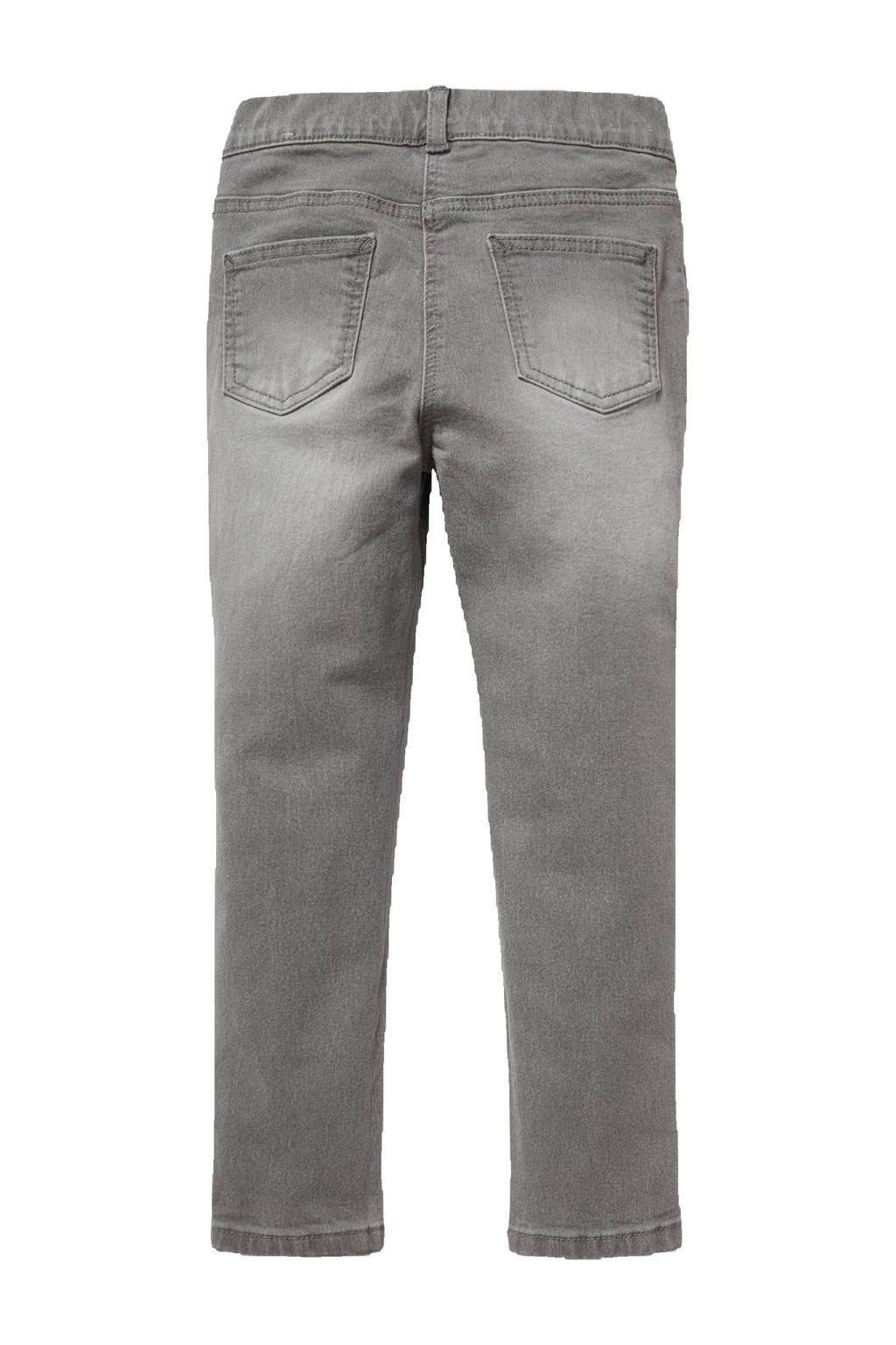 C&A Happy girls Club skinny jeans grijs stonewashed, Grijs stonewashed