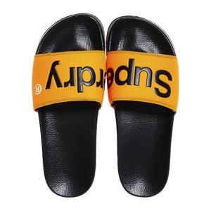Classic Pool Slide  badslippers zwart/oranje