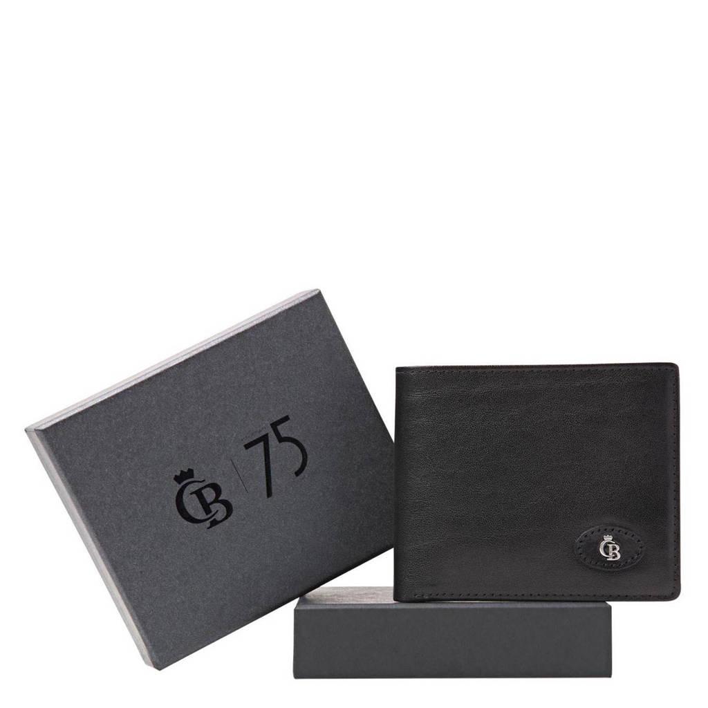Castelijn & Beerens leren portemonnee + giftbox zwart, Zwart