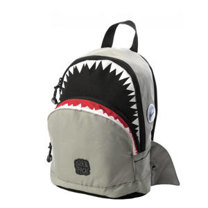 rugzak Shark Shape S grijs