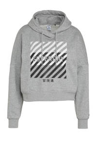 Superdry Sport sportsweater grijs, Grijs