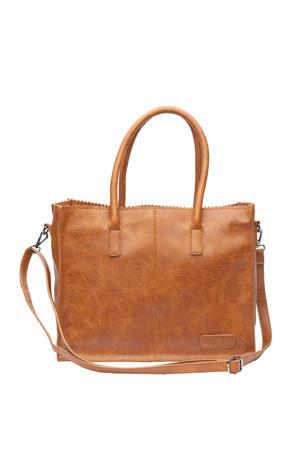 handtas Natural Bag Lisa cognac