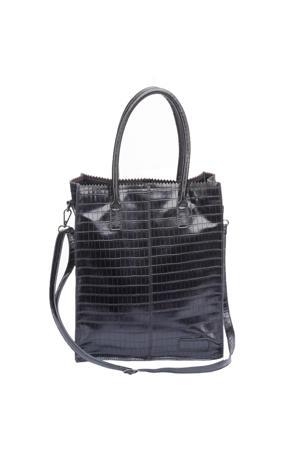 schoudertas Natural Bag Rosa zwart