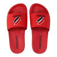 Superdry Sport Core Pool Slide  badslipper rood, Rood
