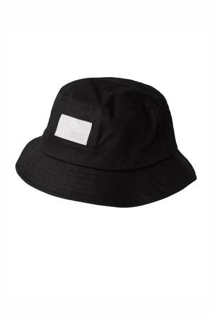 bucket hat Casper zwart