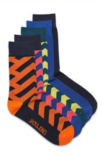 JACK & JONES sokken George - set van 5 multi, Multi