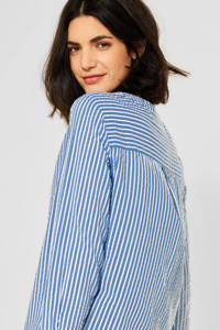 CECIL gestreepte blouse lichtblauw/wit, Lichtblauw/wit