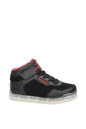 Ice Lights  hoge sneakers met lichtjes zwart