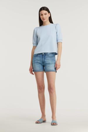 jeans short IHTWIGGY SHO light blue
