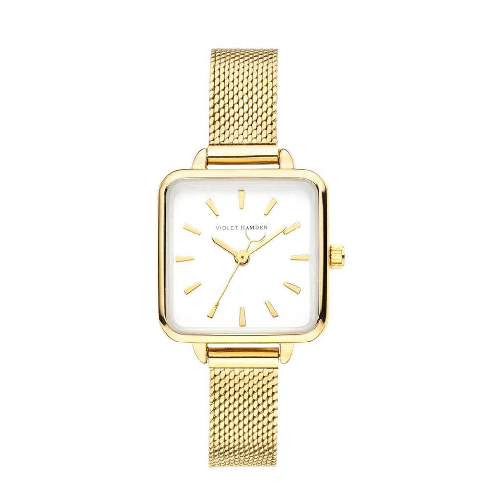 Violet Hamden horloge Dawn - VH05011 goudkleurig, Goudkleurig