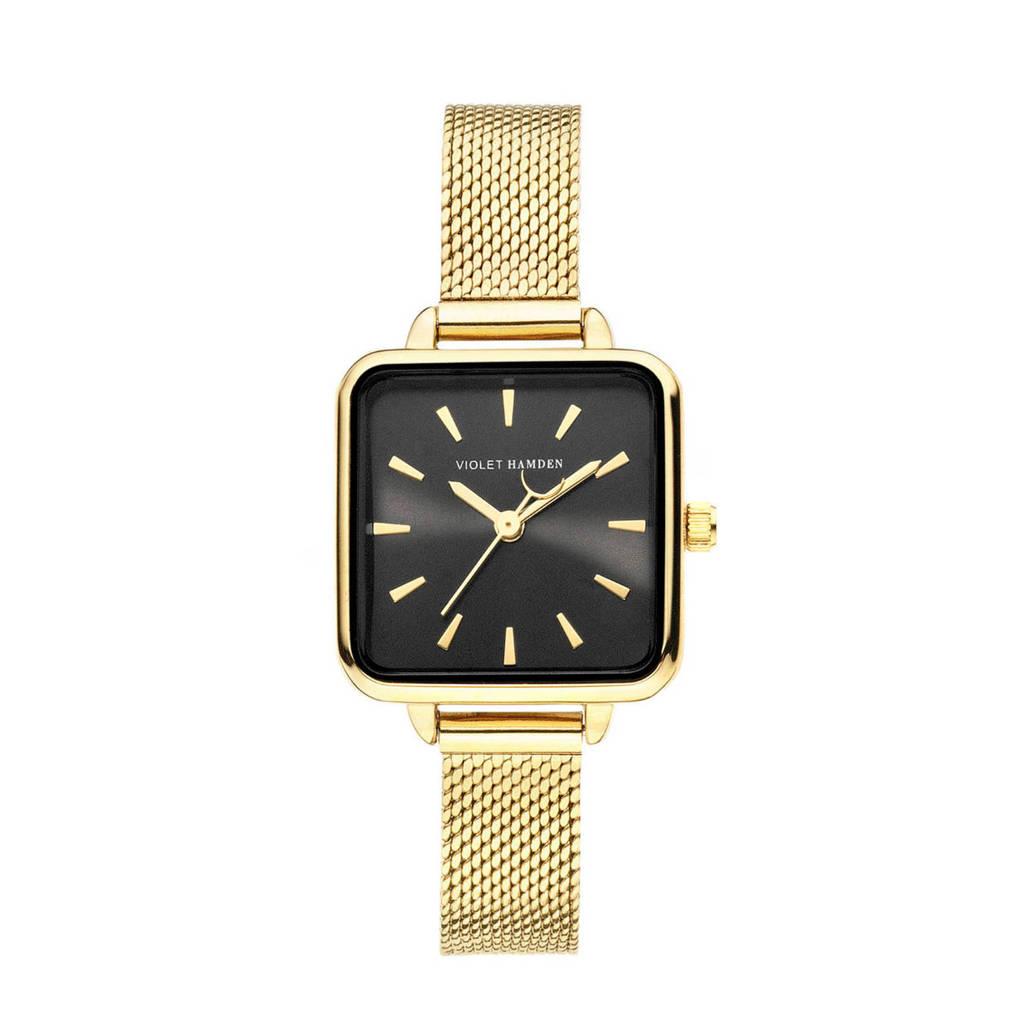 Violet Hamden horloge Dawn - VH05012 goudkleurig, Goudkleurig