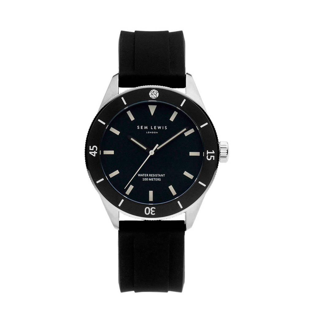 Sem Lewis Thames Diver horloge - SL1100067 zwart, Zwart