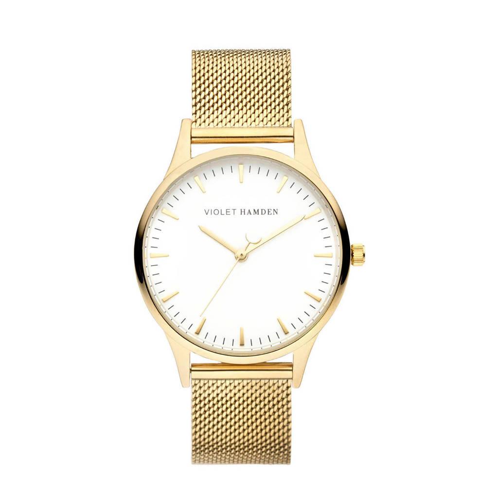 Violet Hamden horloge Nowness - VH05027 goudkleurig, Goudkleurig