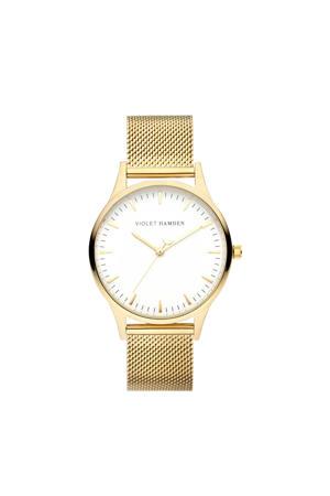 horloge Nowness - VH05027 goudkleurig