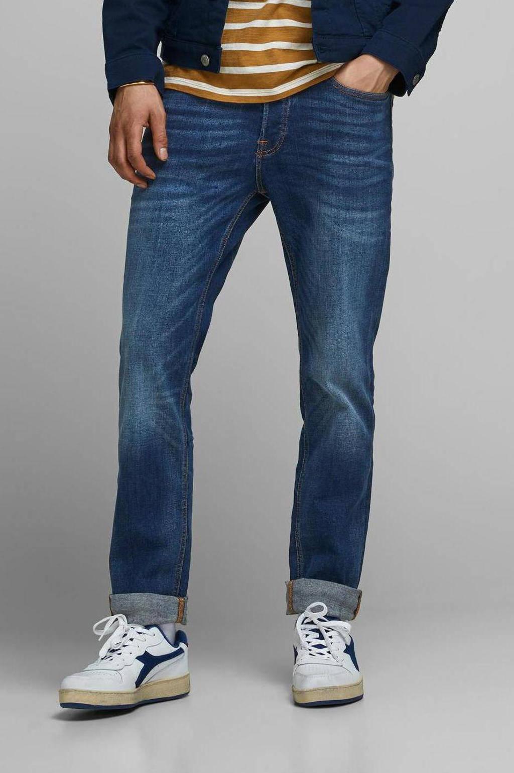 JACK & JONES JEANS INTELLIGENCE slim fit jeans JJITIM JJORIGINAL blue denim, Blue denim