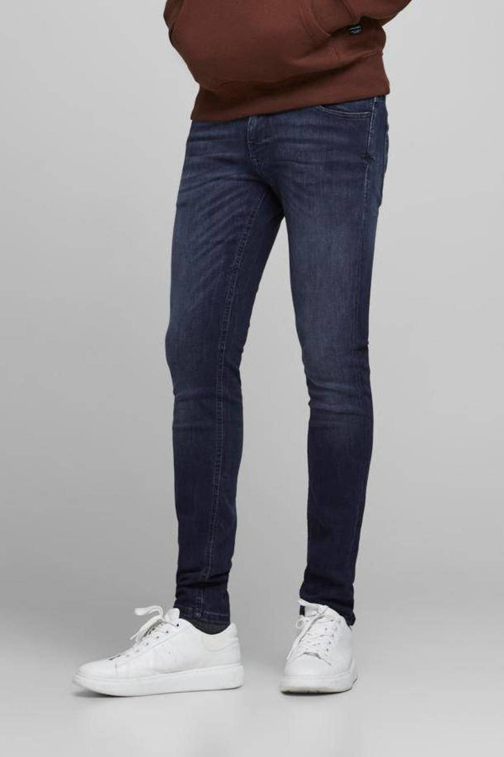 JACK & JONES JEANS INTELLIGENCE skinny jeans Liam Original dark blue denim, Dark  blue denim